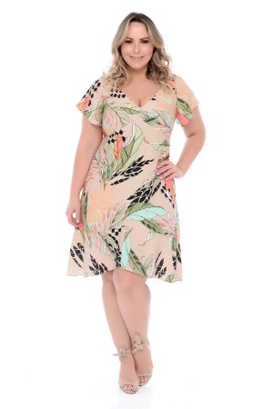 Vestido Plus Size Hanny