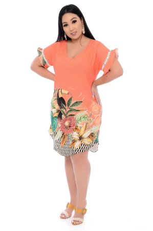 Vestido Plus Size Alya