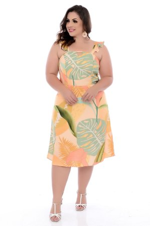 Vestido Plus Size Aleale