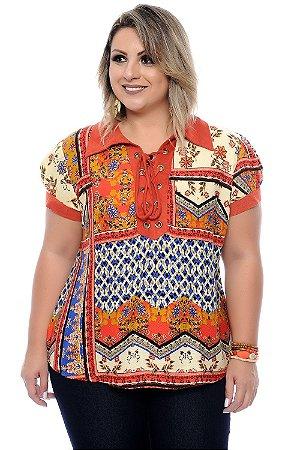 Blusa Plus Size Maria Alice