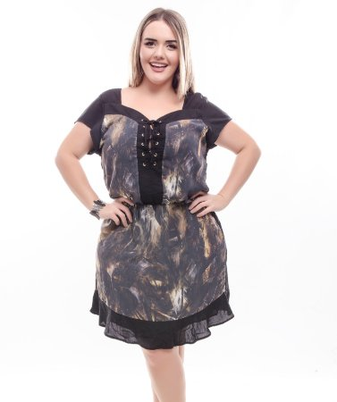 Vestido Plus Size Harriet