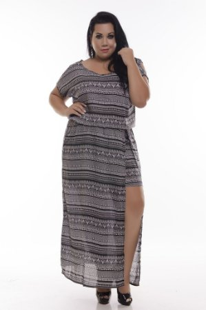 Vestido Plus Size Brunet