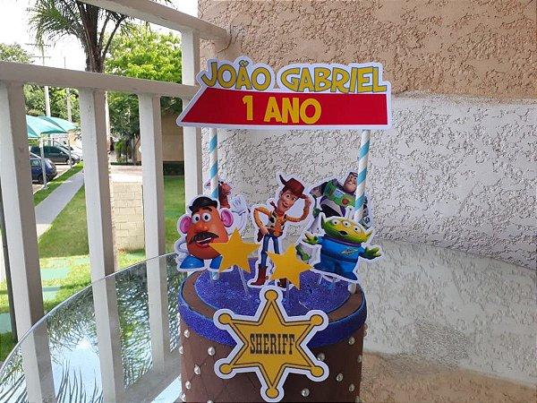Topo de Bolo - Toy Story * Leia a Descrição*