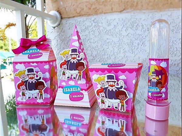 Kit festa Mundo Bita Rosa * Leia a Descrição*