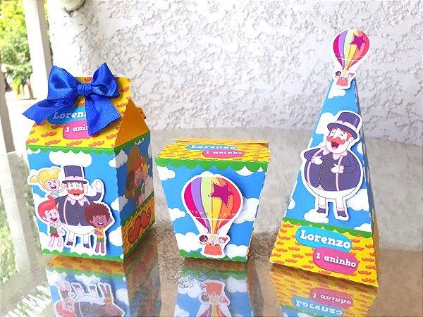 Kit festa Mundo Bita Nuvens - 40 itens * Leia a Descrição*