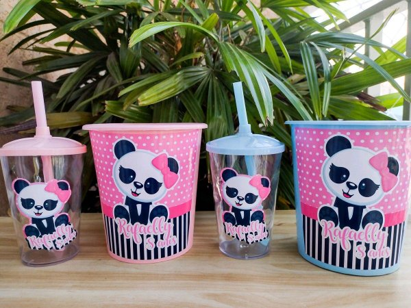Kit Cineminha Panda * Leia a Descrição*