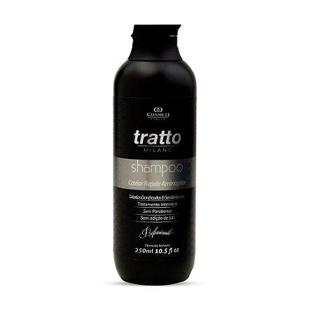 Shampoo de Caviar Aminoplex Repair Cosmezi - Ressecados, Danificados e Sensibilizados 250 ml