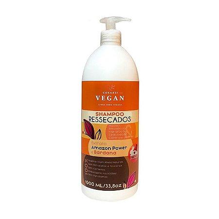 Shampoo Vegano Cabelos Ressecados | Cosmezi