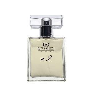 Perfume N.2 Cosmezi Itália 50ml Mandarina,Cassis, Flor de Limoeiro, Cedro, Almiscar