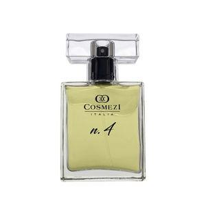 Perfume N.4 Cosmezi Itália 50ml Pessego, Pera , Jasmim, Lirios, Caramelo e Patchouly