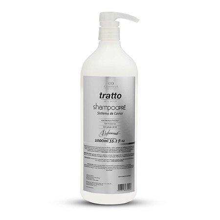 Shampoo Pré de Caviar Detox - Limpeza Profunda sem danificar fios - Profissional 1000ml