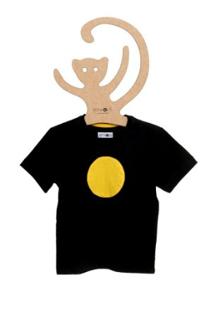 T-Shirt Fa Marinho Circulo Amarelo