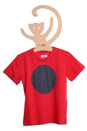 T-Shirt Fe, gola careca e manga curta