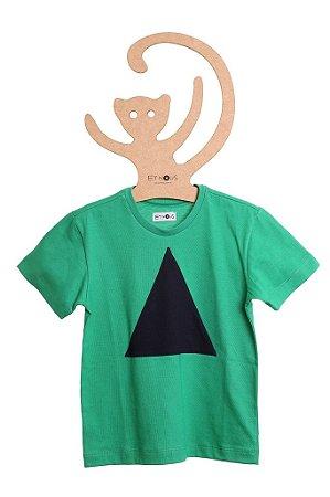 T-Shirt Vini, gola careca e manga curta
