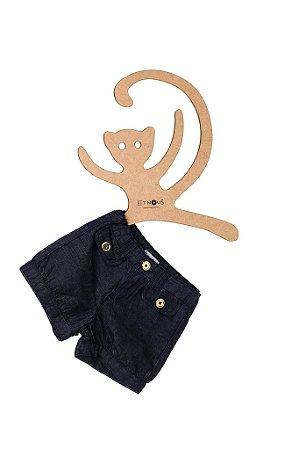Shorts Jeans Gabi Premium, balonê
