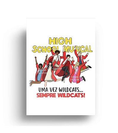 Quadro High School Musical 3 - Wildcats