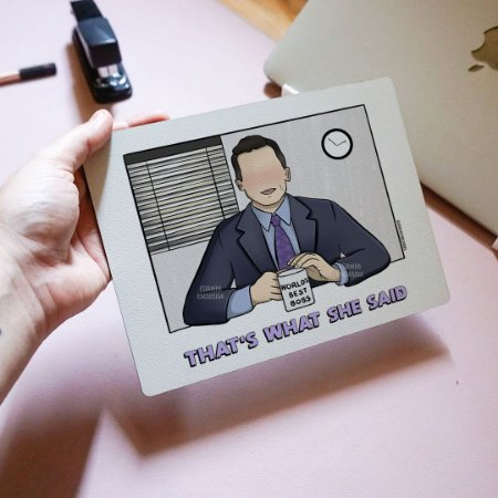 Quadro Michael Scott - The Office