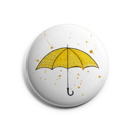 Botton How I Met Your Mother - Guarda-Chuva Amarelo