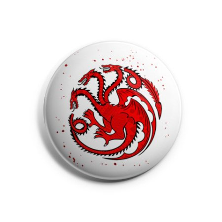 Botton Game of Thrones - Targaryen