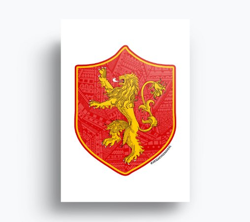 Quadro Game of Thrones - Lannister