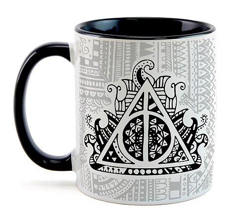 Caneca Harry Potter - Relíquias da Morte