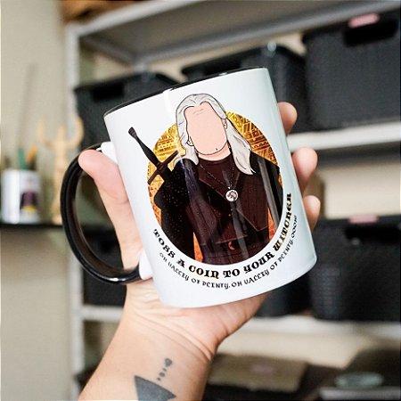 Caneca The Witcher - Geralt