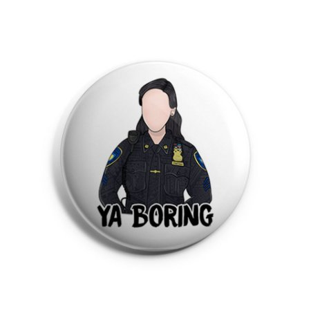 Botton Amy Santiago - Brooklyn 99