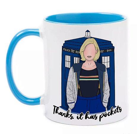 Caneca Doctor Who (13ª Doutora)