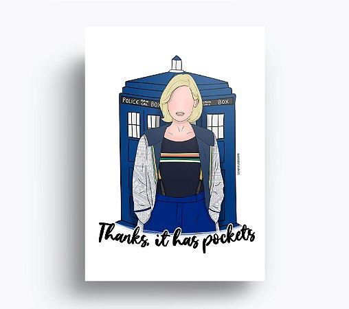 Quadro Doctor Who (13ª Doutora)