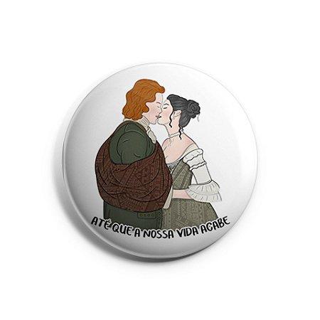 Botton Casamento Jamie e Claire | Outlander