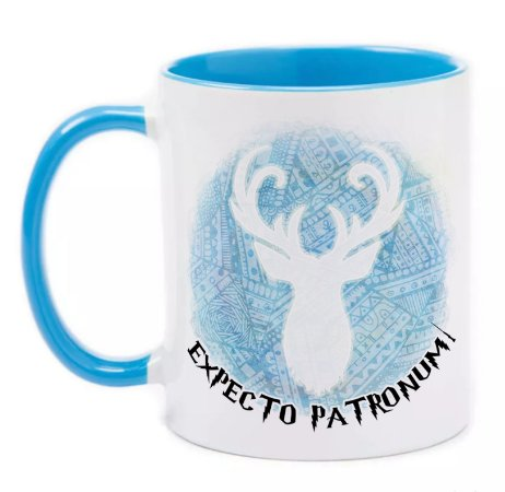 Caneca Expecto Patronum - Harry Potter