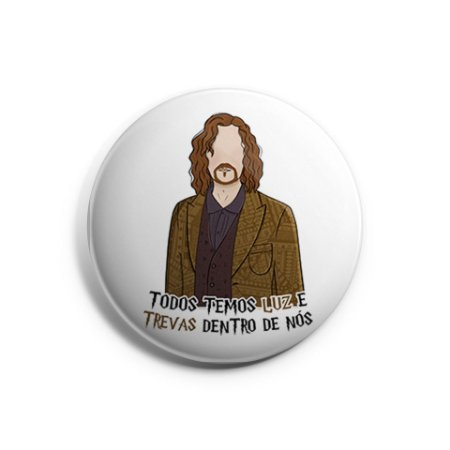 Botton Sirius Black - Harry Potter