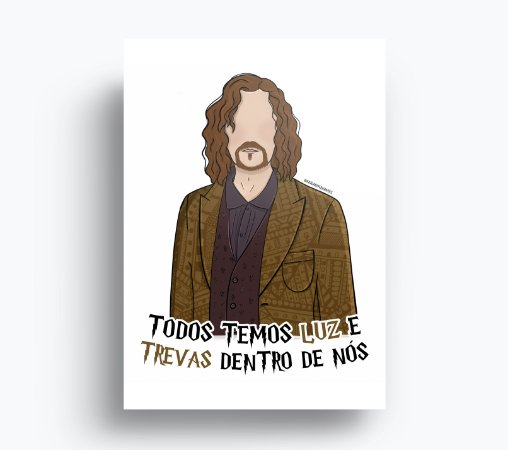 Quadro Sirius Black - Harry Potter
