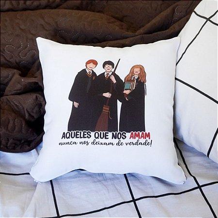 Almofada Harry, Hermione e Rony   Harry Potter