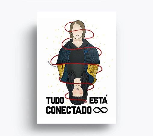 Quadro Dark - Tudo está Conectado