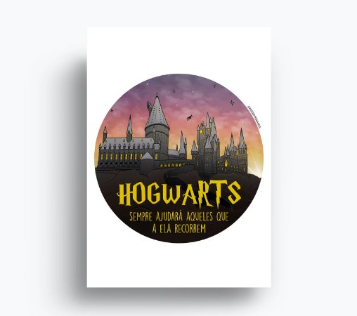 Quadro Hogwarts - Harry Potter