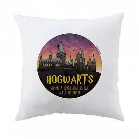 Almofada Hogwarts - Harry Potter