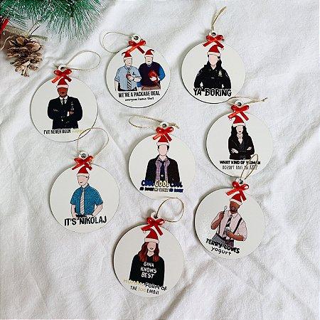 Kit de Enfeites de Natal de Brooklyn 99