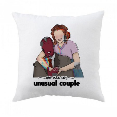 Almofada Wandavision - Unusual Couple