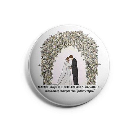 Botton Crepúsculo Casamento - Amanhecer Parte 1