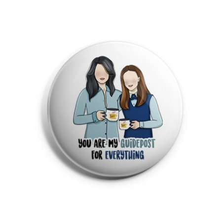 Botton Lorelai e Rory - Gilmore Girls