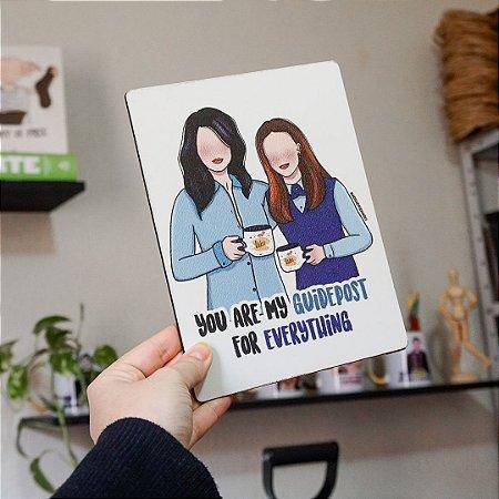 Quadro Lorelai e Rory - Gilmore Girls