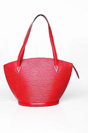 ea88cd53cde Louis Vuitton vermelha - Fashion Shop - Brechó de Luxo