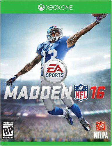 Jogo Madden NFL 16 - Xbox One - Seminovo