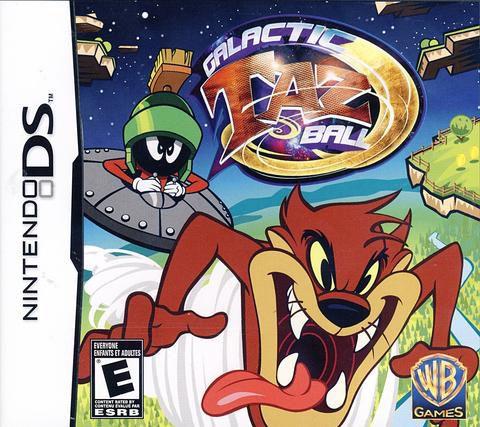 Jogo Galactic Taz Ball - Nintendo DS - Seminovo