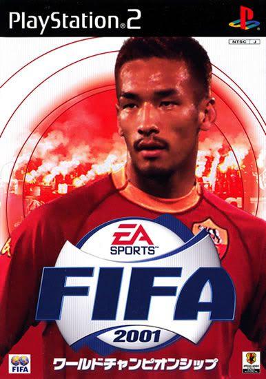 Jogo Fifa 2001 [Japonês] - PS2 - Seminovo
