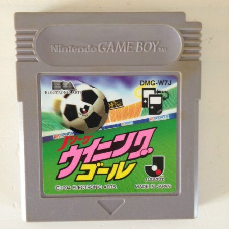 Jogo J League Winning Goal [Japonês] - Game Boy - Seminovo