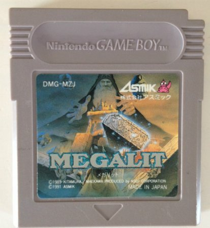 Jogo Megalit [Japonês] - Game Boy - Seminovo