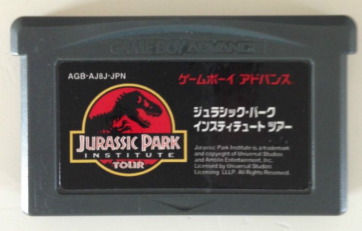 Jogo Jurassic Park Institute Tour - Dinosaur Rescue [Japonês] - Game Boy Advanced - Seminovo