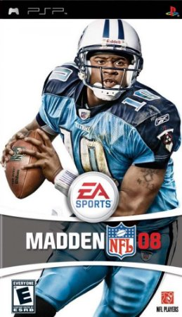 Jogo Madden NFL 08 - PSP - Seminovo